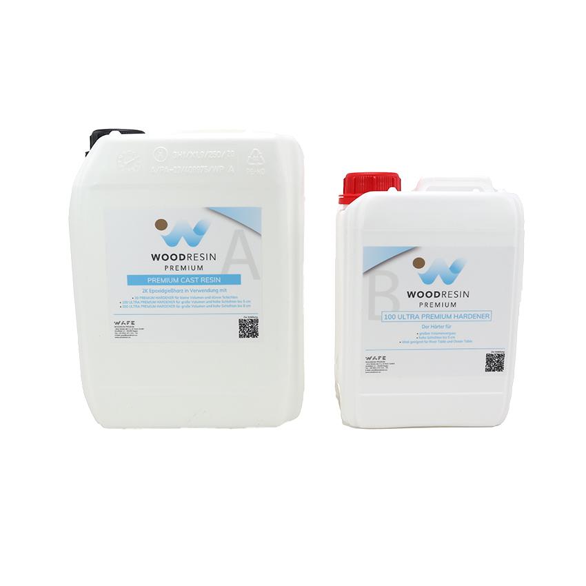 WOODRESIN 100 ULTRA PREMIUM CAST RESIN SYSTEM  1,45 kg (1 kg resin + 450 g hardener)