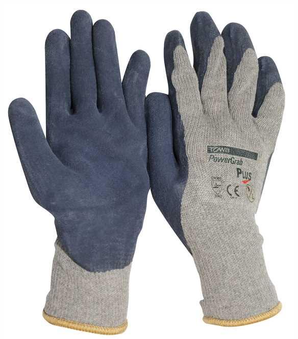Baumwolle/Polyester Strickhandschuh mit Latexbeschichtung