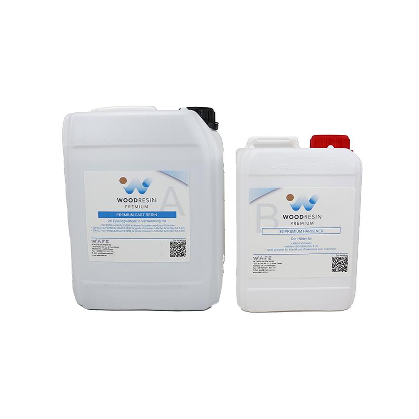 WOODRESIN 80 ULTRA PREMIUM CAST RESIN SYSTEM 0,7 kg (500 g resin + 200 g hardener)